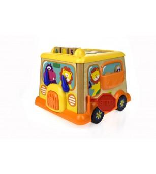 Centru de activitati - Primul meu autobuz - Jucării de lemn si Montessori