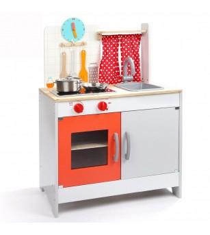 Joc de rol - Prima mea bucatarie din lemn - Bucătărie copii