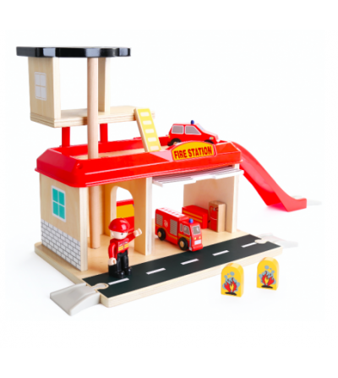 Jucarie de rol - Statie de pompieri - Vehicule de jucărie