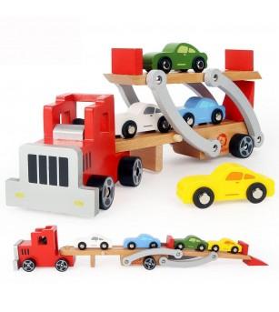 Camion cu platforma auto - Vehicule de jucărie
