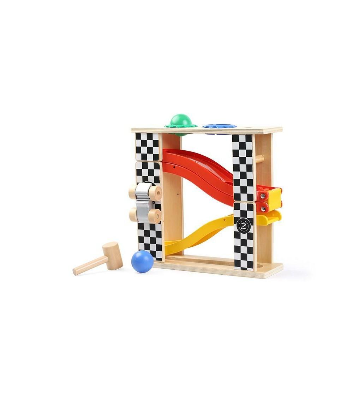 Jucarie de percutie - Masinuta in cursa - Vehicule de jucărie