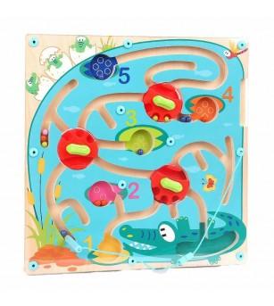 Puzzle labirint - Crocodilul -