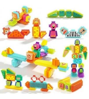 Set de constructie - Animalute salbatice - Jocuri construcție