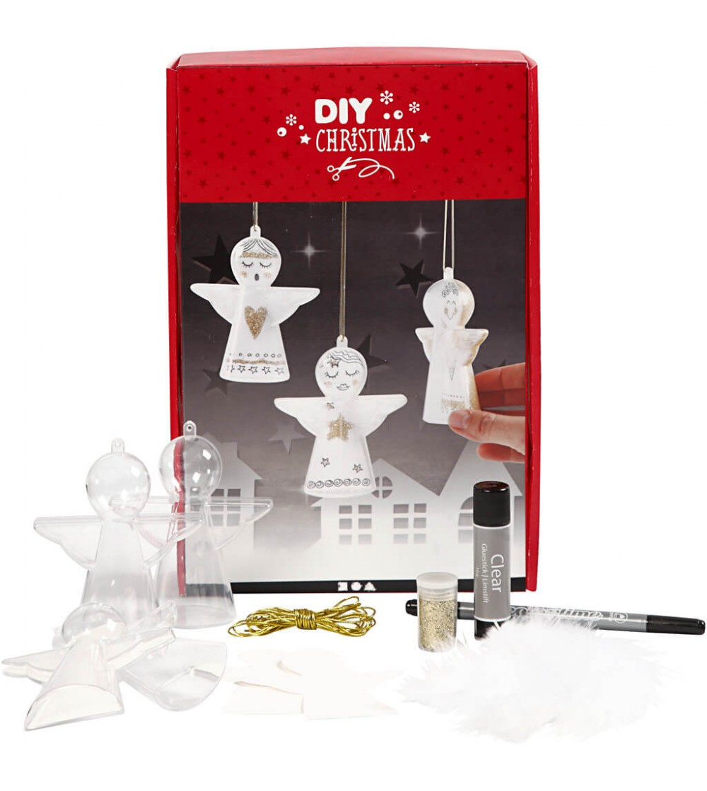 Kit DIY Ornamente Craciun - Ingeras