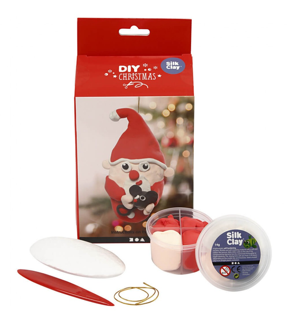 Kit DIY ornament Mos Craciun