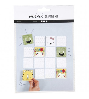 Mini kit creativ - Joc de memorie - Crafturi