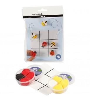Mini kit creativ X si 0 - Plastilină și modelare
