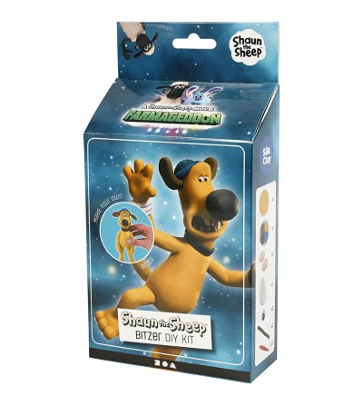 Set creatie Shaun the Sheep - Bitzer - Plastilină și modelare