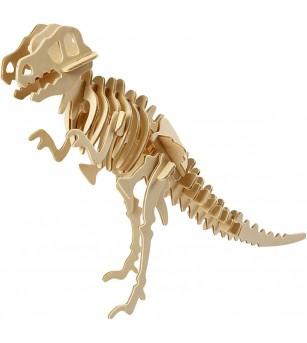 Kit 3D din placaj de lemn - Dinozaur