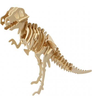Kit 3D din placaj de lemn - Dinozaur - Jocuri construcție