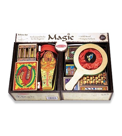Set Magie Deluxe Melissa & Doug - Set magie copii