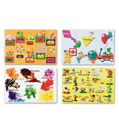 Puzzle de podea Melissa and Doug - Educational 4 - Puzzle-uri