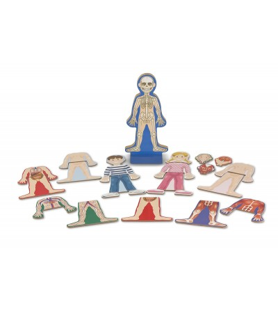 Set magnetic Melissa and Doug - Corpul Uman - Corpul uman
