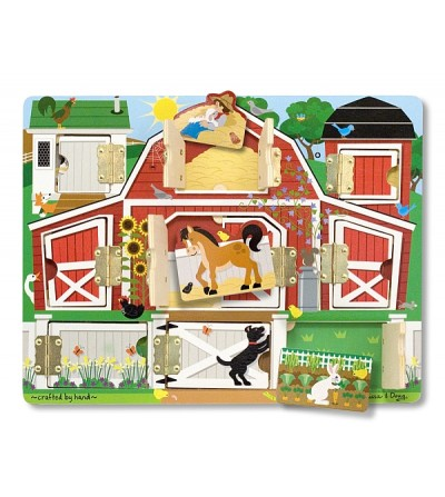 Puzzle magnetic Melissa and Doug - Ascunde si descopera - Puzzle-uri