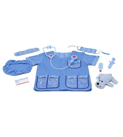 Costum carnaval copii Medic Veterinar Melissa and Doug - Costume de carnaval