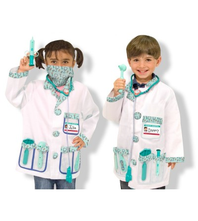 Costum carnaval copii Medic Melissa and Doug - Costume de carnaval