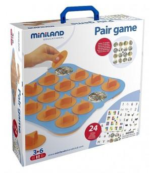 Joc de memorie Miniland 12 activitati - Jocuri de memorie și asociere