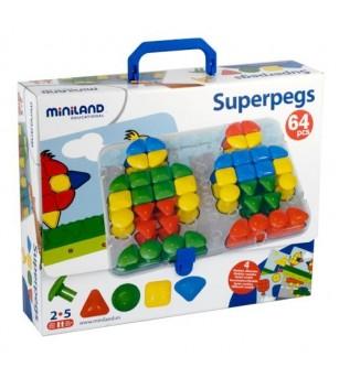 Mozaic Miniland gigant - Jucării creativ-educative
