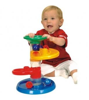Jucarie cursa cu bile pentru bebelusi Miniland - Jucării bebeluși