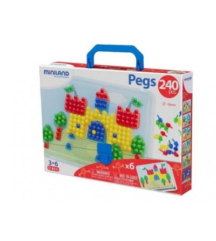 Mozaic Miniland - 10 mm - Jucării creativ-educative