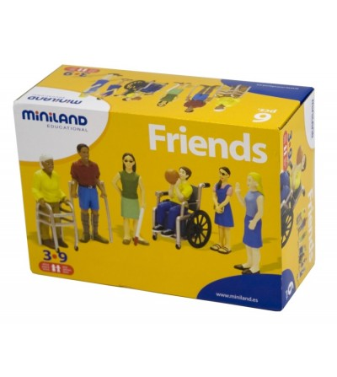 Persoane cu handicap set de 6 figurine - Miniland - Figurine