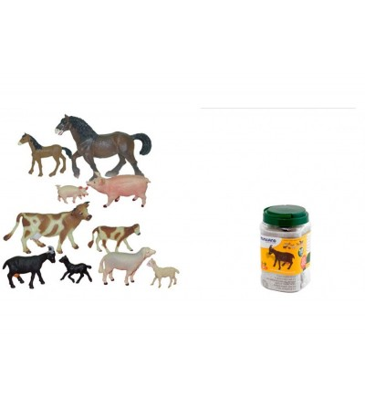 Animale domestice cu puii set de 10 figurine - Miniland - Figurine