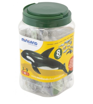 Animale marine set de 8 figurine - Miniland - Figurine