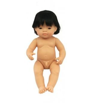 Papusa Miniland asiatic - Baiat 38 cm - Papusi