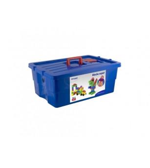 Blocks Super Scoala 96 piese - Miniland - Jocuri construcție