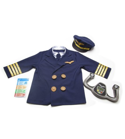Costum Pilot de Avion Melissa and Doug - Costume de carnaval