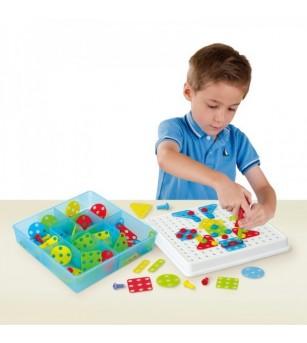 Joc constructii Mosaic Art Miniland - Jocuri construcție