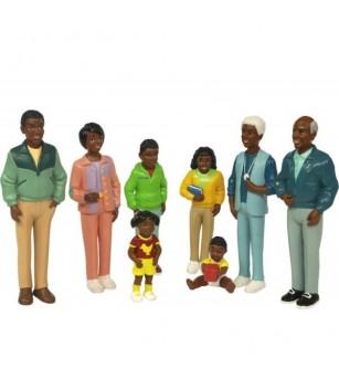 Figurine Miniland familie africana - Figurine