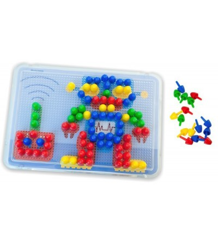 Joc mozaic Miniland - 15 mm - Jucării creativ-educative
