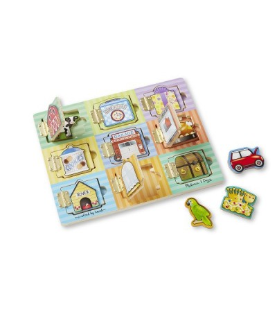Joc magnetic ascunde si gaseste Melissa and Doug - Jucarii magnetice