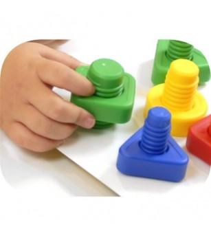 Joc de indemanare Miniland - suruburi - Jucării creativ-educative