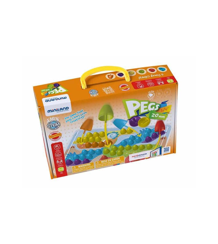 Joc mozaic Miniland - 90 piese - Jucării creativ-educative