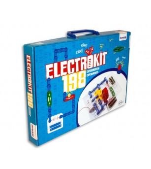 Puzzle electronic cu 198 experimente - Miniland - Știință și tehnică