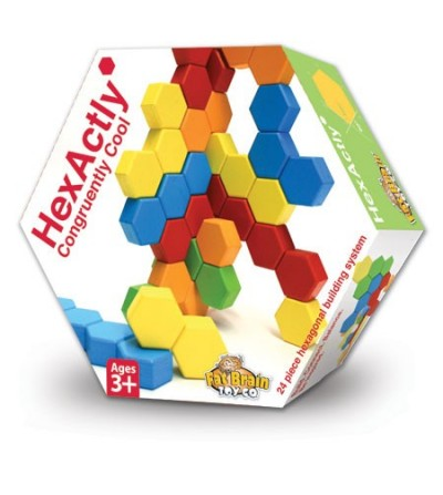 Joc de constructie Fat Brain Toys Hexactly