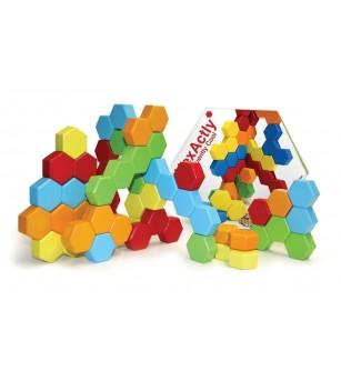 Joc de constructie Fat Brain Toys Hexactly - Jocuri construcție