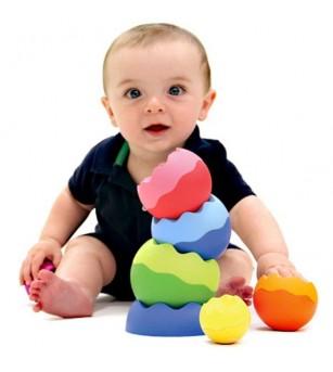 Joc de echilibru Tobbles Neo Fat Brain Toys - Jucării bebeluși