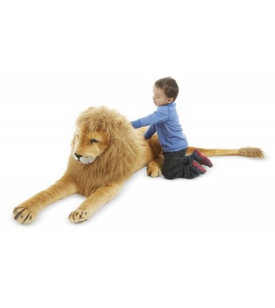 Leu gigant din plus Melissa and Doug - Jucarii de plus