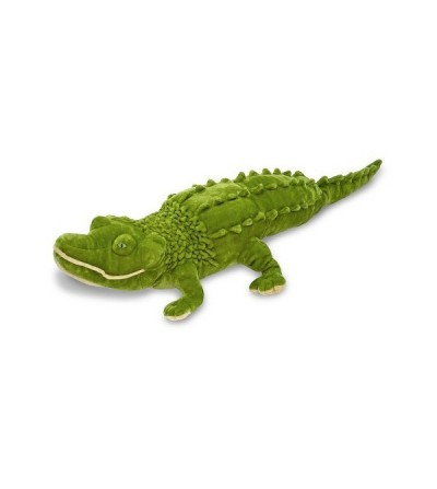 Crocodil gigant din plus Melissa and Doug - Jucarii de plus