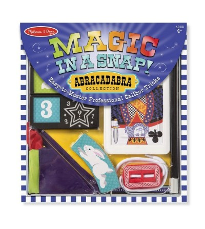 Set magie Abracadabra - Melissa and Doug - Set magie copii