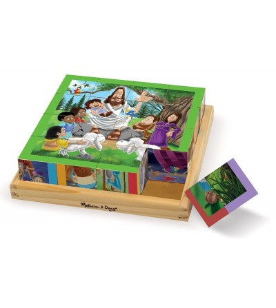 Cuburi Melissa and Doug - Noul Testament - Puzzle-uri
