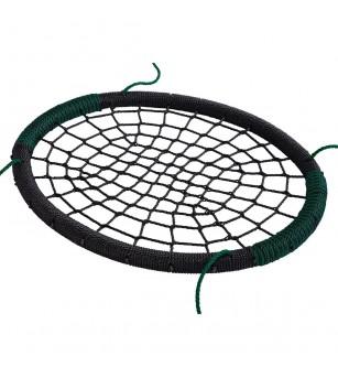 Leagan cuib oval PP - negru verde - Locuri de joacă