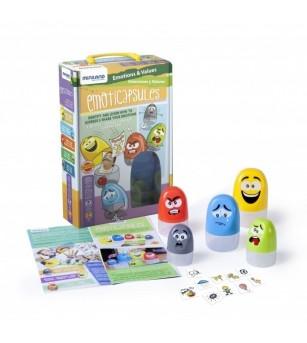 Joc Cutiutele cu Sentimente - Miniland - Jucării creativ-educative