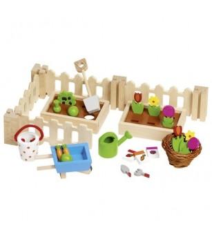 Accesorii din lemn - Gradina mea - Jucării de lemn si Montessori