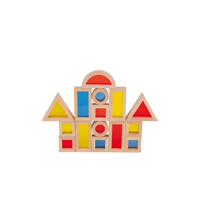 Set Goki cuburi de construit cu ferestre - Jocuri construcție