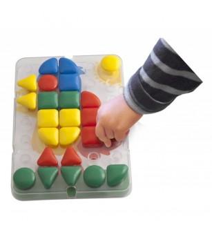 Mozaic Miniland Gigant - Set Individual - Jucării creativ-educative