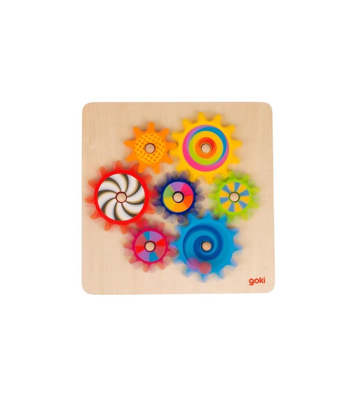 Joc de indemanare Goki Rotitele - Jucării de lemn si Montessori